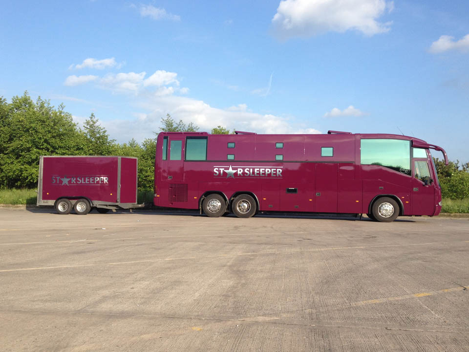 Tour Bus Trailer For Hire From Starsleeper Sleeper Bus Hire