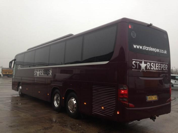 6 8 Or 10 Berth Luxury Single Decker Sleeper Bus