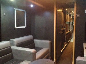 Rear lounge to bunk area