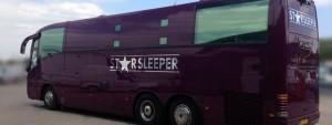 Starsleeper bus hire