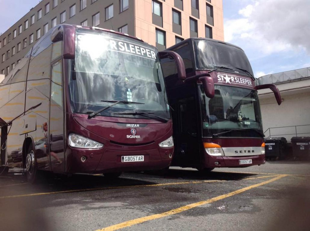 GB05TAR and DD05TAR as Starbus and Crewbus for Anastacia Summer 2018