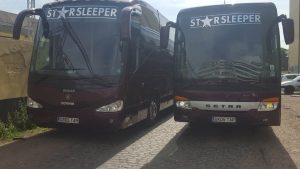SS55TAR & GB05TAR, Starbus and Crewbus on tour with Nelly